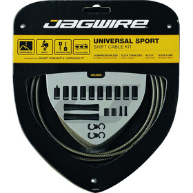 Jagwire Sport Universal Shift Cable Set for Shimano/SRAM/Campagnolo, silver